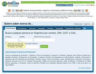 dateas.com screenshot