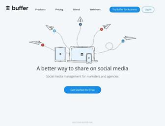 Thumbshot of Bufferapp.com