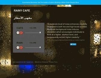 Thumbshot of Rainycafe.com