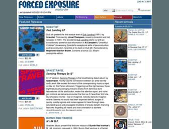 forcedexposure.com screenshot