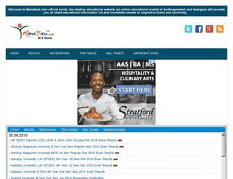 manabadi.com screenshot