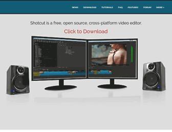 shotcut.org screenshot