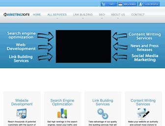 marketing1on1.com screenshot