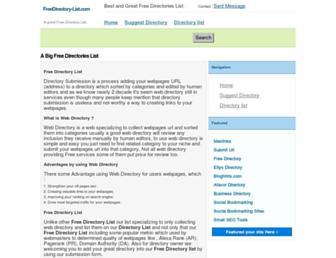 Thumbshot of Freedirectory-list.com