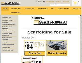scaffoldmart.com screenshot