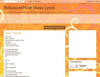 music-lyricsz.blogspot.com screenshot