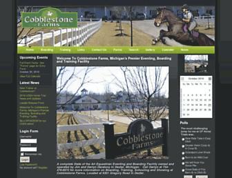 cobblestonefarmsllc.com screenshot