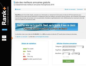 rankplus.fr screenshot