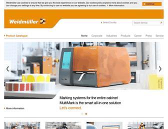 weidmueller.com screenshot