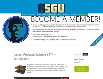 Thumbshot of Theskepticsguide.org