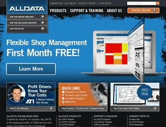 alldata.com screenshot