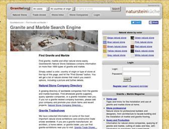 graniteland.com screenshot