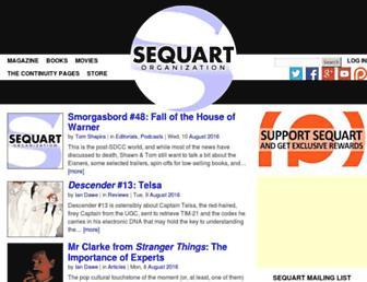 Thumbshot of Sequart.org