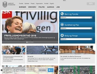 Thumbshot of Aarhus.dk