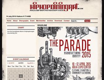 hiphopdiningrat.com screenshot
