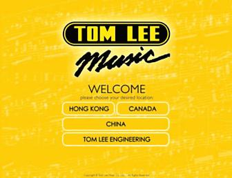 Thumbshot of Tomleemusic.com