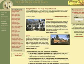 architecturalhouseplans.com screenshot