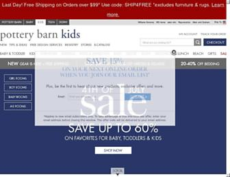 Thumbshot of Potterybarnkids.com