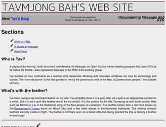 Thumbshot of Tavmjong.free.fr