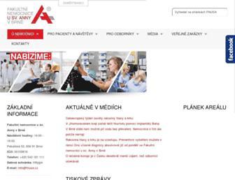 fnusa.cz screenshot