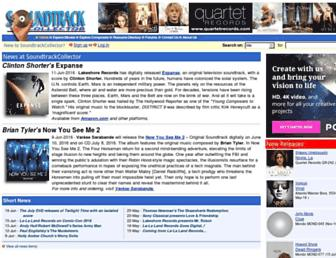 soundtrackcollector.com screenshot