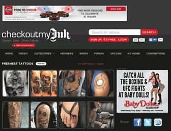 Thumbshot of Checkoutmyink.com