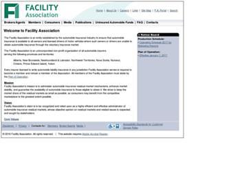 facilityassociation.com screenshot