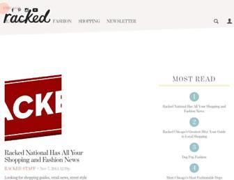 chicago.racked.com screenshot