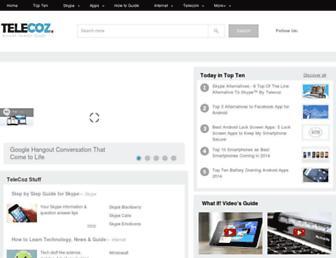 telecoz.com screenshot