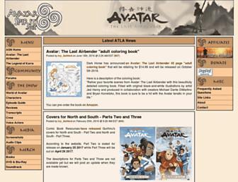 atla.avatarspirit.net screenshot