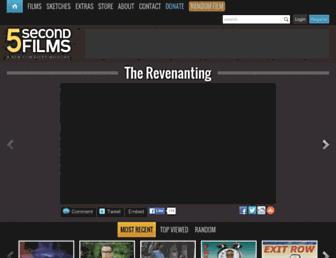 Thumbshot of 5secondfilms.com