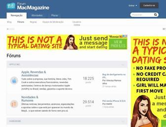forum.macmagazine.com.br screenshot