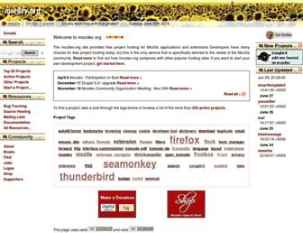 Thumbshot of Mozdev.org