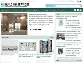 buildingservicesindex.co.uk screenshot