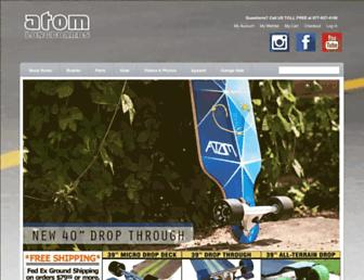 atomlongboards.com screenshot