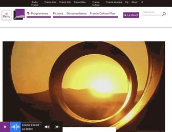 franceculture.fr screenshot