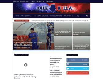 dalebulla.cl screenshot