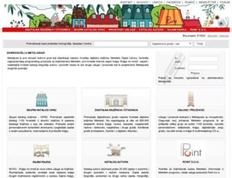 library.foi.hr screenshot