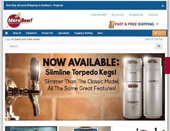 Thumbshot of Morebeer.com