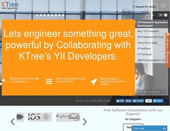 ktree.com screenshot