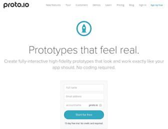 Thumbshot of Proto.io