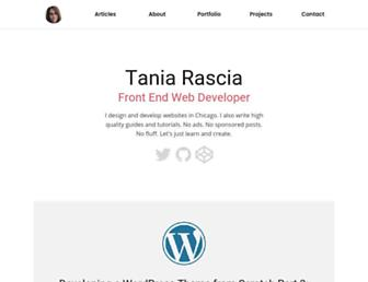 taniarascia.com screenshot
