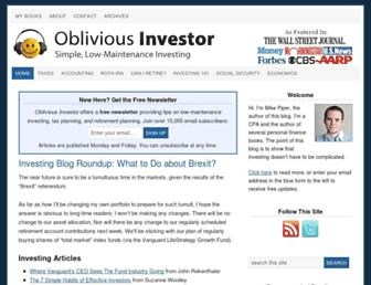 Thumbshot of Obliviousinvestor.com