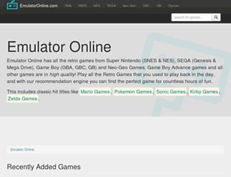 emulatoronline.com screenshot