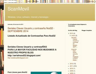 scanmovil.blogspot.com screenshot