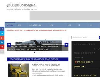 quellecompagnie.com screenshot