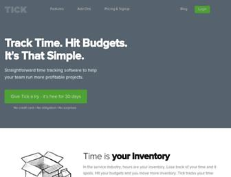 Thumbshot of Tickspot.com
