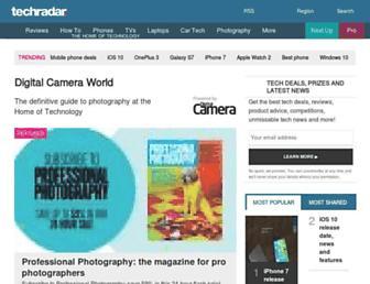 digitalcameraworld.com screenshot