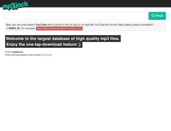 mp3jack.in screenshot