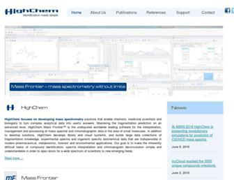 highchem.com screenshot